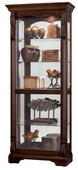 Howard Miller CHM1534 Deluxe Stately Hampton Cherry Curio Cabinet (Made in USA)