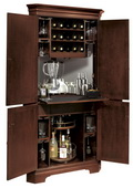 Howard Miller Norcross Corner Wine & Bar Cabinet - CHM1268