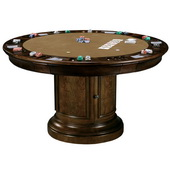 Howard Miller CHM1176 Ithaca Deluxe Hampton Cherry Ithaca Game Table