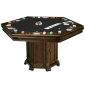 Howard Miller Deluxe CHM1174 Rustic Cherry Wooden Game Table