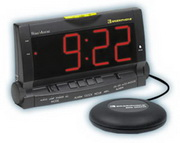 WTD1120 Wake Assure Alarm Clock Black