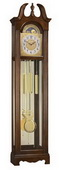 Ridgeway CRW3209 Deluxe Swans Neck Grandfather Clock Quartz (Made in USA)
