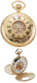 Charles Hubert Classic Pocket Watch 17 Jewel Mechanical - DCH5167
