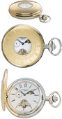 Charles Hubert Premium Pocket Watch 17 Jewel Mechanical - DCH5086