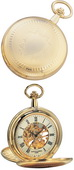 Charles Hubert Classic Pocket Watch 17 Jewel Mechanical - DCH5152