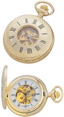 Charles Hubert Classic Pocket Watch 17 Jewel Mechanical - DCH5197