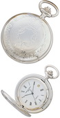 Charles Hubert Classic Pocket Watch Quartz - DCH5233