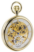 Charles Hubert Premium Pocket Watch 17 Jewel Mechanical - DCH5047