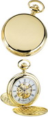 Charles Hubert Classic Pocket Watch 17 Jewel Mechanical - DCH5158