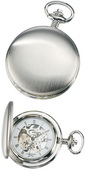 Charles Hubert Classic Pocket Watch 17 Jewel Mechanical - DCH5251
