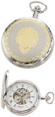 Charles Hubert Classic Pocket Watch 17 Jewel Mechanical - DCH5188