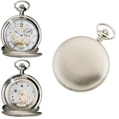 Charles Hubert Premium Pocket Watch 17 Jewel Mechanical - DCH5044