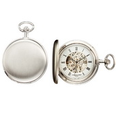 Charles Hubert Classic Pocket Watch 17 Jewel Mechanical - DCH5182