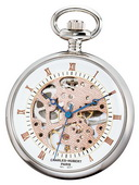 Charles Hubert Classic Pocket Watch 17 Jewel Mechanical - DCH5245