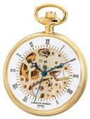 Charles Hubert Classic Pocket Watch 17 Jewel Mechanical - DCH5248