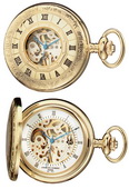 Charles Hubert Classic Pocket Watch 17 Jewel Mechanical - DCH5173