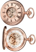 Charles Hubert Classic Pocket Watch 17 Jewel Mechanical - DCH5146