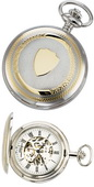 Charles Hubert Classic Pocket Watch 17 Jewel Mechanical - DCH5155