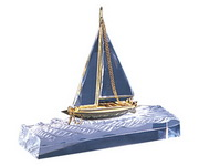 BLSN Crystal Wave-Breaking Yacht (small) - YBS5239