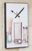 American Dinner Art Designer Kitchen Wall Clock - GGW5456