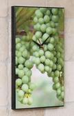 Wine Grapes Art Designer Kitchen Wall Clock - GGW5444