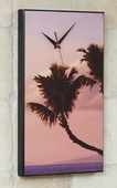 Hawaiian Palm Trees Art Designer Wall Clock - GGW5478