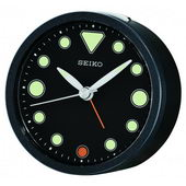 Seiko Yateley Quiet sweep Bedside Alarm Clock