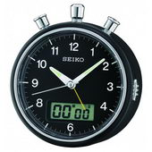Seiko Bedside Alarm Stop watch countdown timer Clock - GSK4824