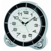 Seiko Winsford Quiet sweep Bedside Alarm Clock