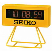 Seiko Windsor Desk Table Alarm Clock - Stopwatch CountDown timer