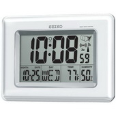 Aqua Pear Abingdon R-Wave Atomic Alarm Wall & Desk Clock by Seiko - GSK4198