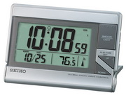 Seiko Alford Global R-Wave Travel Alarm Clock - GSK4202
