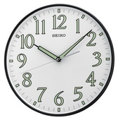 11.75in Aqua Pear Neva Wall Clock by Seiko - GSK4310