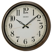Seiko 16in Alston Indoor Outdoor Wall Clock - GSK4318