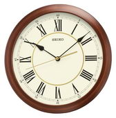 11in Aqua Pear Wincanton Quiet Sweep Wall Clock by Seiko - GSK4850