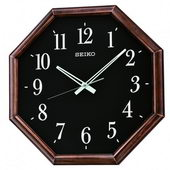 Seiko Stockton Quite Sweep Wall Clock