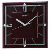 11.75in Seiko Stretton Quiet Sweep Wall Clock - GSK4856
