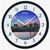 12.25in Seiko Wellington Quiet Sweep Wall Clock - GSK4858