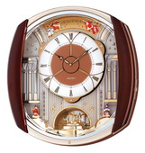 Seiko Ashington Musical Wall Clock 12 Melodies Including Holiday Melodies - GSK4646