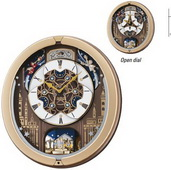 Seiko Northwich Open Dial Melody In Motion Wall Clock 18 Songs