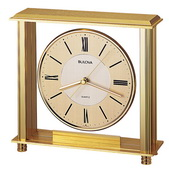 Bulova Table Top Clock - GTB6106