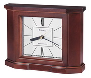 Aqua Pear Deluxe Mantel Quartz Clock by Bulova - GTB6138