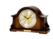 Aqua Pear GTB6186 Deluxe Chiming Mantel Quartz Clock by Bulova