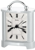 Bulova Tabletop Alarm Clock With Metal Case - GTB6238