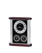 Bulova Executive Tabletop Quartz Clock - GTB6352
