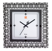 Bulova 12.5in Square Designer Wall Clock - GTB6496