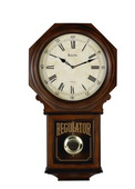 Aqua Pear Deluxe Chiming Wall Clock Quartz by Bulova - GTB6522