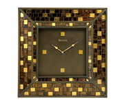 Bulova 22in Decorative Wall Home & Office Clock - GTB6544