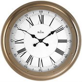 25in Bulova Wall Clock