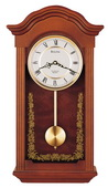 Aqua Pear Deluxe Chiming Wall Clock Quartz by Bulova - GTB6616